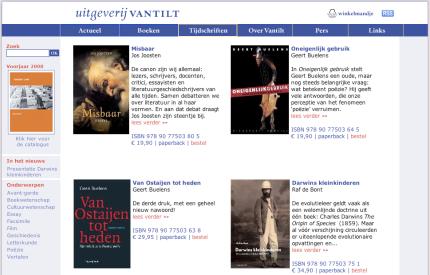 Website Vantilt