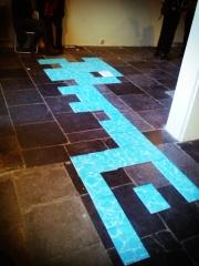 De restvorm van de vloer