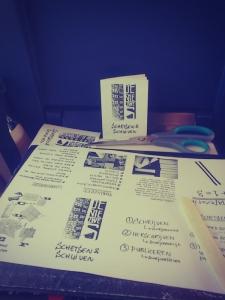 Schetsen en Schuiven: Workshopzine